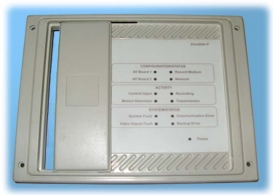 Computer Bezel With Sliding CD Rom Access Door